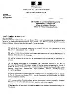 Arrêté Prefectoral n°120 du 03 avril 2008