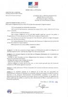 Arrêté préfectoral n°797 du 29 décembre 2014