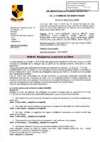 2020-03 Délégations consenties au Maire