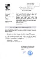 2020-06 Désignation des délégués du SICECO