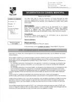2020-35 prenant acte du débat du PADD